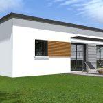 Maison plain pied contemporaine rt2012