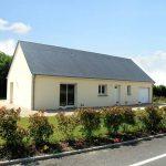 maison plain-pied à toiture double pente