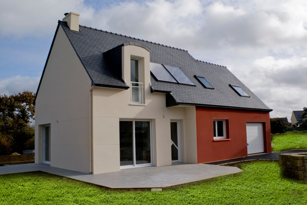 Les r alisations constructeur maisons clefs d 39 or maisons for Maison tres basse consommation
