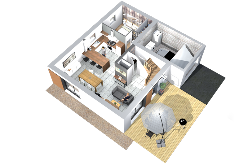 Maisons Contemporaines plans