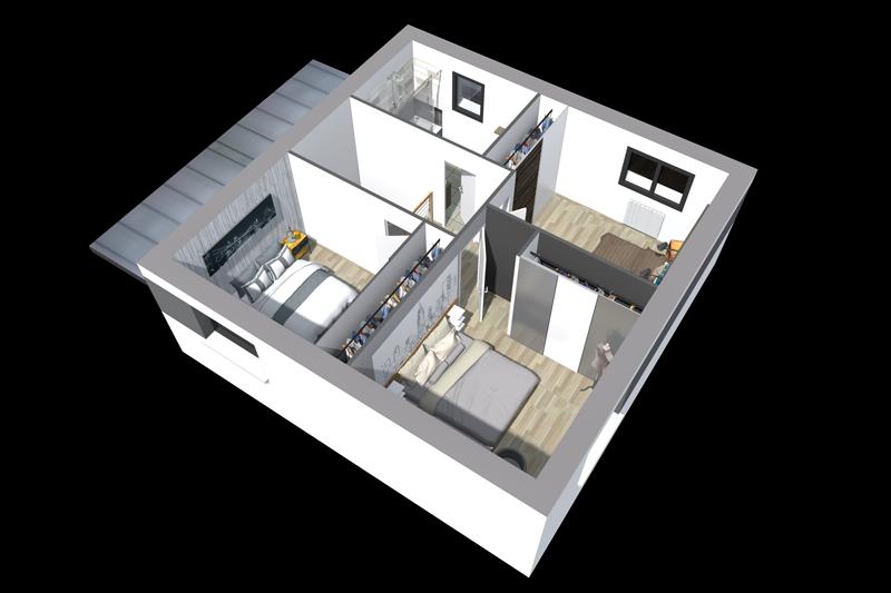 Construire une maison moderne - Maisons Clefs d\'Or constructeur Bretagne