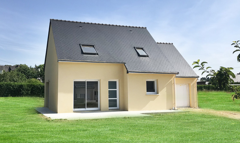 maison traditionnelle Baud Morbihan